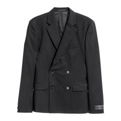 Mens Slim Fit Blazer - Black