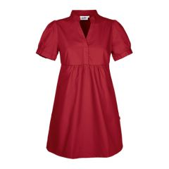 Womens Short Dress with side pockets in Red