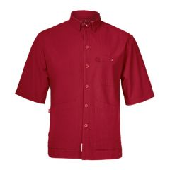 Mens SS Shirt with Triple Frontal Pocket