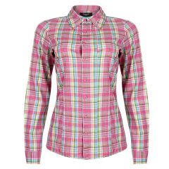 Point Blia Long Sleeve Shirt - Pink/Turq