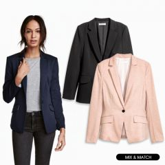 Women Blazers in Assorted Colors, Styles & Sizes | Pack of 10 Units
