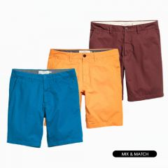 Men Shorts in Assorted Colors, Styles & Sizes | Pack of 10 Units