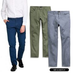 Men Chinos in Assorted Colors, Styles & Sizes | Pack of 10 Units