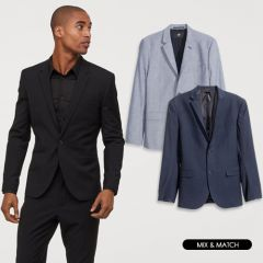 Men Blazers in Assorted Colors, Styles & Sizes | Pack of 10 Units